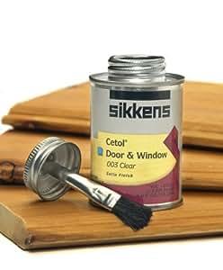 Standard French Door Window Size: Sikkens Cetol Door & Window