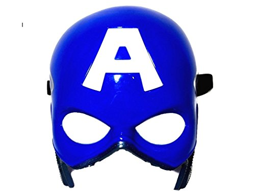 [Marvel Superhero The Avengers Costume LED Light Eye Mask (Captain America)] (Baby Girl Marvel Costumes)