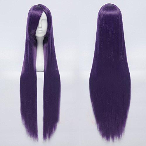 Sunny-business Anime Long Inu X Boku Secret Service Straight Purple Cosplay Wig