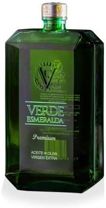 Aceite Oliva Verde Esmeralda Premium | Botella de 500ml | Aceite de Oliva Virgen Extra | Variedad Picual | Producto Gourmet | Ideal para regalar