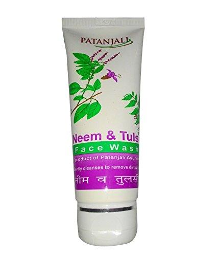 Patanjali Face Wash Neem Tulsi - 60 gm (Pack of 3)