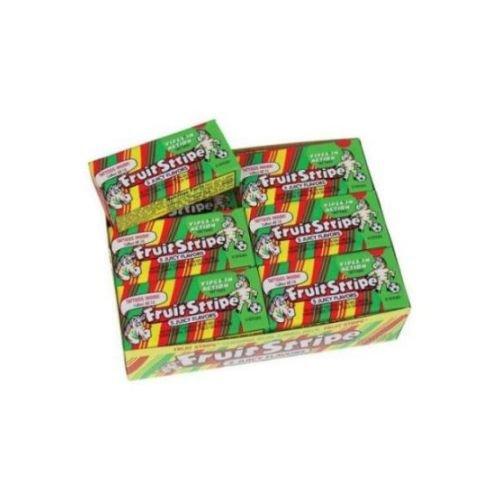 Fruit Stripe Chewing Gum - 12 per pack -- 16 packs per case.