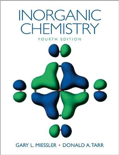 miessler inorganic chem solutions manual 4th edition
