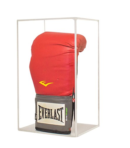 Vertical Table Top Boxing Glove Display Case