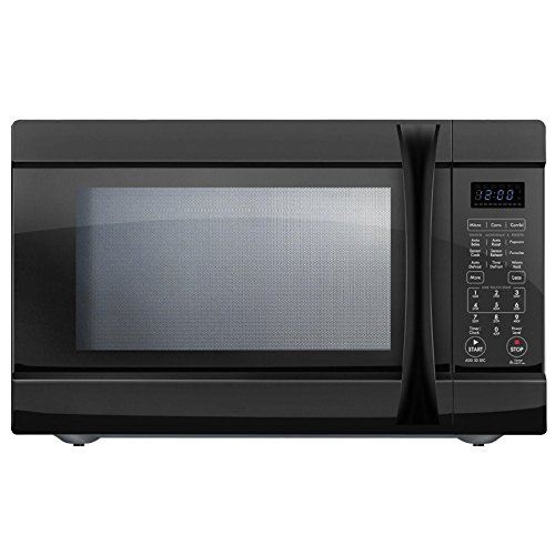 Chef Star CS74159 1.5 cu.ft. 1000 watts w/ Convection Countertop Microwave Black (Certified Refurbished) by Chef Star