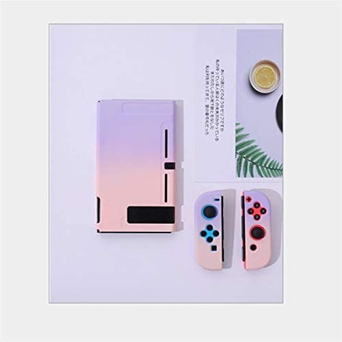 SzKing 任天堂スイッチコントローラシェルハード住宅のフルカバーケースゲームコンソールのカラフルなシェルのための保護ケース ホット (Color : G)