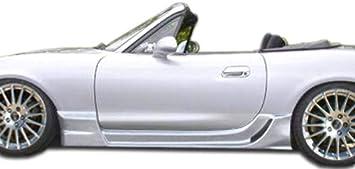2 Piece Duraflex Replacement for 1999-2005 Mazda Miata Wizdom Side Skirts Rocker Panels