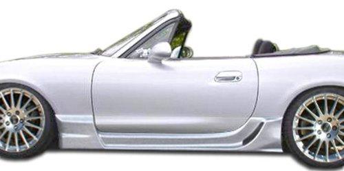 1998-2005 Mazda Miata Duraflex Wizdom Side Skirts Rocker Panels - 2 Piece - Miata Side Skirts
