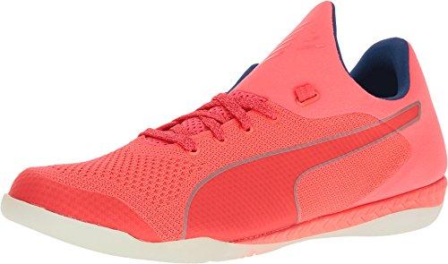 PUMA Men's 365 Evoknit Ignite CT Soccer Shoe, Bright Plasma White/True Blue, 9 M US (Plasma Feet)