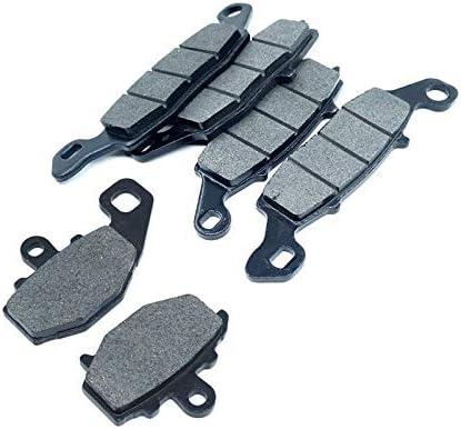 LIWENCUI Color : Whole Set 3 Pads Avant et arri/ère Plaquettes de Frein Set Kit for Kawasaki Z750 ZR750 Z750S ZX1100 GPZ1100