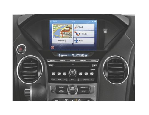 OEM Enhanced Electronics - OEM Factory Integrated Navigation System for Select Honda Odyssey/Pilot Models - (OEM-HON/OP-NAV)