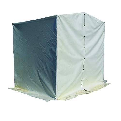 Sellstrom S97260 Outdoor Welding and Confined Space Tent, 6.5′ Height, 6.5′ Wide, 6.5′ Length, PVC Fabric, Universal