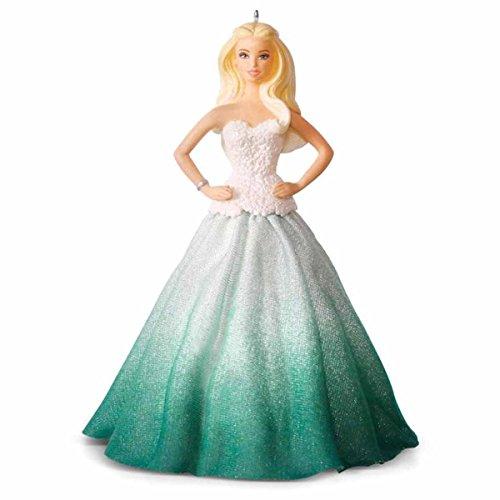Hallmark 2016 Christmas Ornament Holiday Barbie™ Ornament