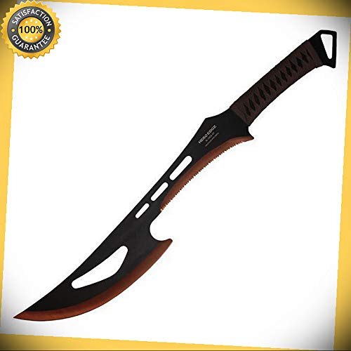 24'' 440 Stainless 2 Tone Blade Ninja Machete Sword for sale  Delivered anywhere in USA