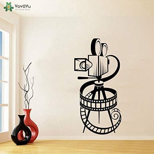 Tatuajes de pared Cámara de la película Carrete Pegatinas de pared ...