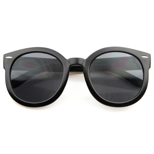 zeroUV - Designer Inspired Mod Fashion Oversized P3 Shaped Round Circle Sunglasses - Sunglasses Circle Shaped