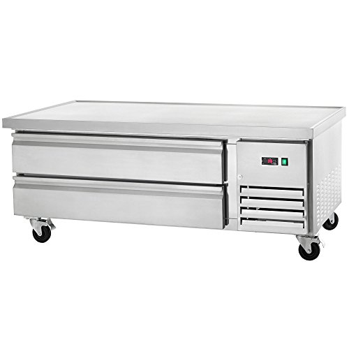 Arctic Air ARCB60 62-Inch 2-Drawer Refrigerated Chef Base, 115v ()