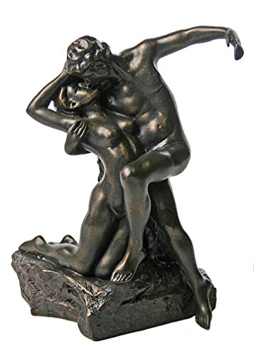 Parastone Eternal Spring Time by Rodin Two Lovers The Kiss - Spring Eternal