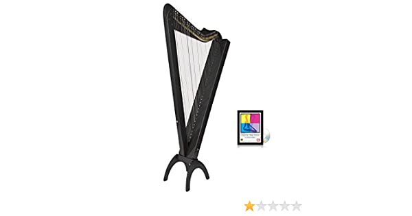 Amazon com: 33 String Acoustic/Electric Grand Harpsicle Harp