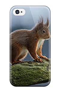New ZippyDoritEduard Super Strong Squirrel Tpu Case Cover For Iphone 4/4s