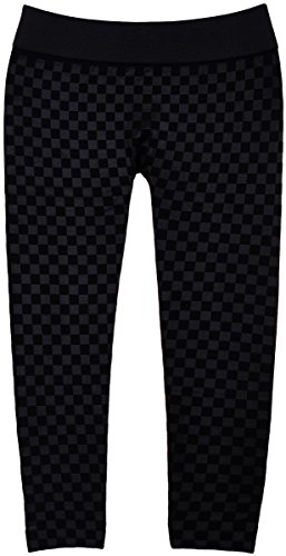 Girl's Fall and Winter Micro-Fleece Linded Leggings In 6 Great Styles & Colors (24644 Black Checkerboard, 4-6X)