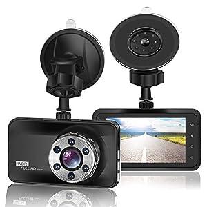 ORSKEY Dash Cam 1080P Full HD Car Camera DVR Dashboard Camera Video Recorder In Car Camera Dashcam for Cars 170 Wide…