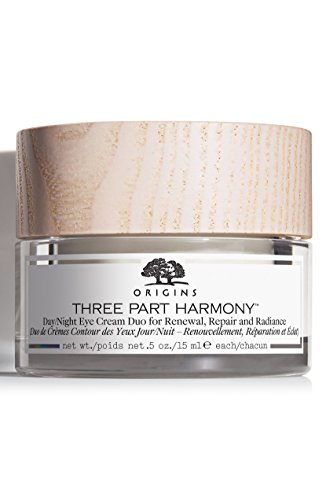Three Part Harmony Day/Night Eye Cream Duo For Renewal, Repair & Radiance .5 oz / 15 ()
