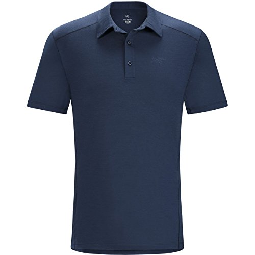 Arcteryx Polos (Arcteryx Pelion SS Polo - Men's Night Tide)