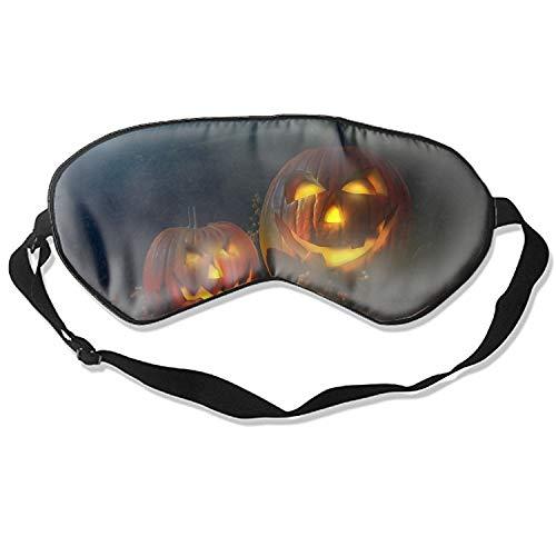 Scary Halloween Pumpkin Eye Mask Sleeping Mask Silk Mask Shade Sleep Gossles Eyeshade/blindfold ()