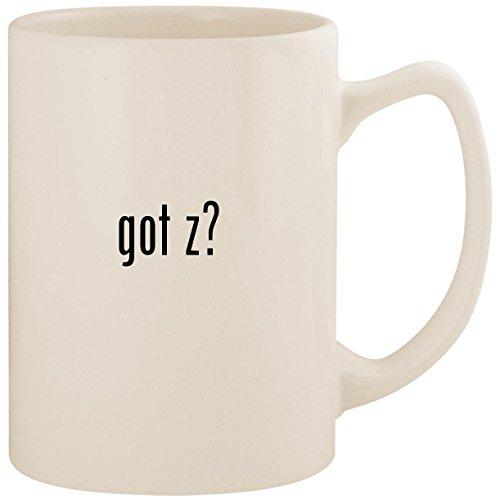 got z? - White 14oz Ceramic Statesman Coffee Mug Cup