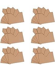 EXCEART 1 Set of 100PCS Cardboard Corner Protector, Kraft Paper Photo Frame Corner Protector