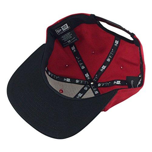 New Era Hero Fill Mickey Mouse Red Black Visor Snapback Hat Cap