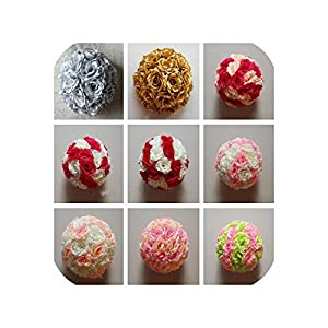 Artificial Flower Ball Artificial Kissing Flower Ball Home Decoration 20