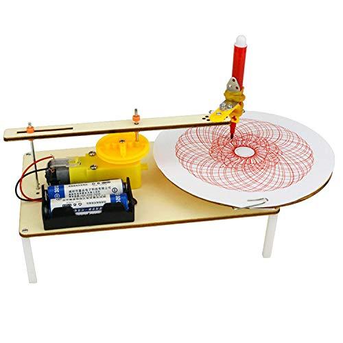 TOOGOO Creative DIY Puzzle Assembled Kits Kids Handmade Graf