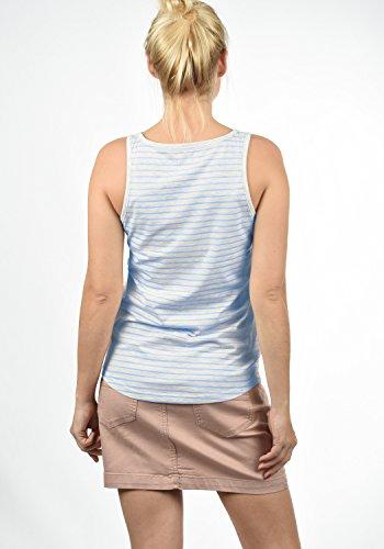 Da Senza Sky Desires Melanie Maglietta Donna Manica Blue 1025 T shirt Canotta 7g0ngz