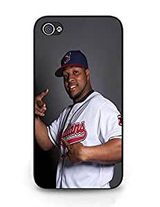 Advanced Nice Custom Baseball Player Action Pattern Phone Skin Case for Iphone 4 4s