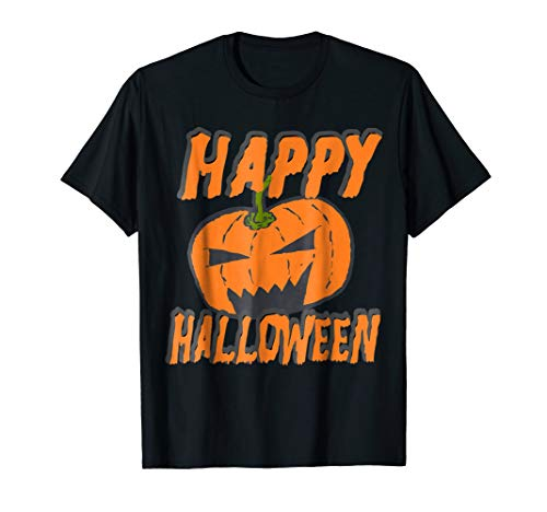 Happy Halloween Pumpkin Monster Spirit T Shirt