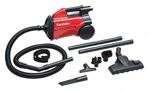 Sanitaire Canister Hepa Vacuums - 1/2 gal. Commercial Series Canister Vacuum, 135 cfm, 10 Amps, HEPA Filter Type