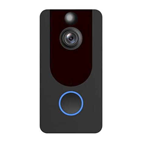 Hillrong - Timbre Inteligente con cámara con Timbre WiFi V7 ...
