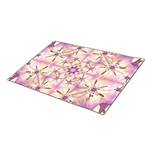 Eryoubs Doormat Softness Mandala Fall Doormats