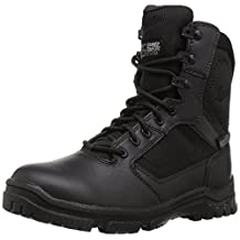 "Danner Men's Lookout Side-Zip 8"" Black Military and Tactical Boot"