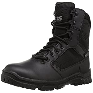 "Danner Men's Lookout Side-Zip 8"" Military and Tactical Boot, Black, 13 2E US"