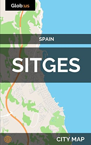 Sitges, Spain - City Map