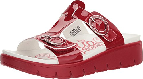 Alegria Women's Vita Sandal Duo Red Patent 41