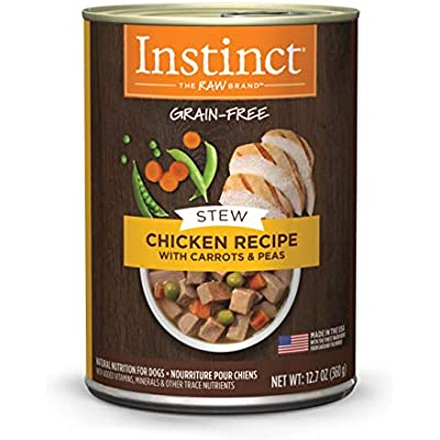 Instinct Grain Free Stews Recipe Natural Wet Canned Dog Food