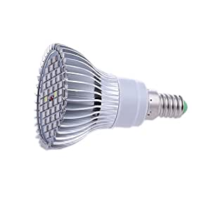 LING'S SHOP AC85-265V 5730 40LED 30W LED Plant Grow Light Bulb for Indoor Hydroponic Garden Greenhouse Plants (E14)