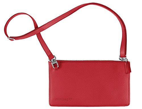 minibag 12 22 5 femme 4cm pour Rouge Pochette 1 rAUc4r