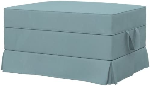 Soferia - IKEA EKTORP Funda para reposapiés, Eco Leather Mint ...