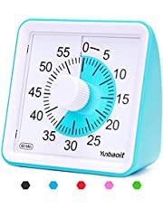 Yunbaoit Visual Analog Timer,Countdown Clock,No Loud Ticking,Time Management Tool for Kids and Adults (Blue)