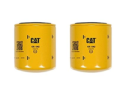 Caterpillar 4355142 435-5142 COOLANT FILTER Advanced High Efficiency  Multipack (Pack of 2)